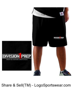 Adult eXtreme Mesh Basketball Short Design Zoom